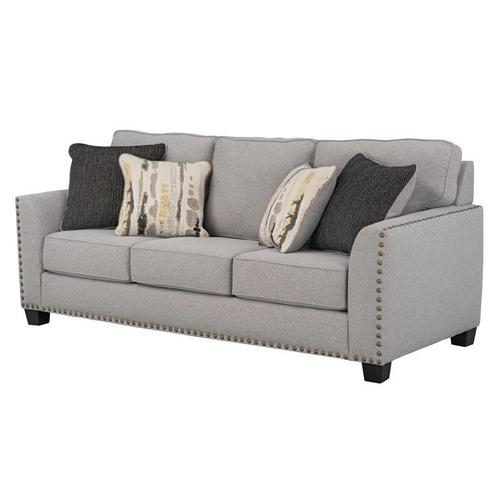 Carmelle Upholstered Sofa, Granite