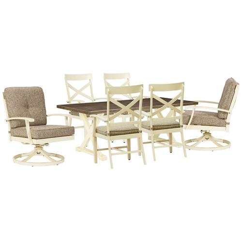 Outdoor Dining Table and 6 Chairs