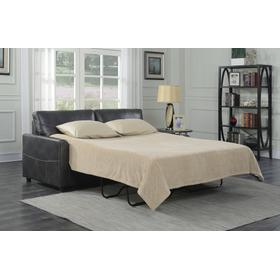Emerald Home Slumber Queen Sleeper W/gel Foam Mattress Charcoal