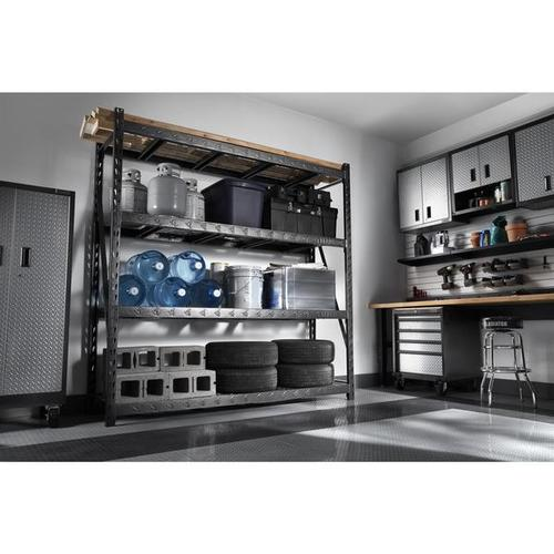 """Gladiator - 30"""" Wide EZ Connect Rack with Four 15"""" Deep Shelves"""
