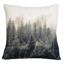 Velvet Forest Pillow