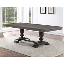 Hutchins 59-95-Inch Table w/Two 18-inch Leaves