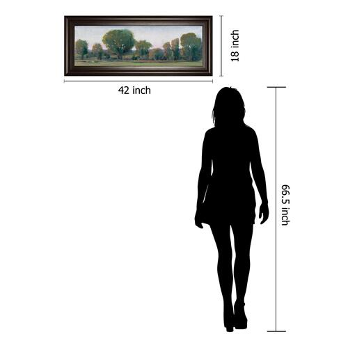 """Panoramic Treeline Il"" By Tim Otoole Framed Print Wall Art"