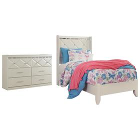 Twin Panel Bed With Dresser
