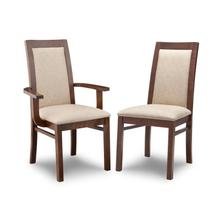 View Product - Brooklyn Padded Back Side Chair in Fabric