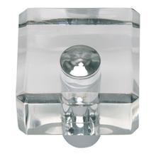 Optimism Square Knob 1 1/4 Inch - Polished Chrome