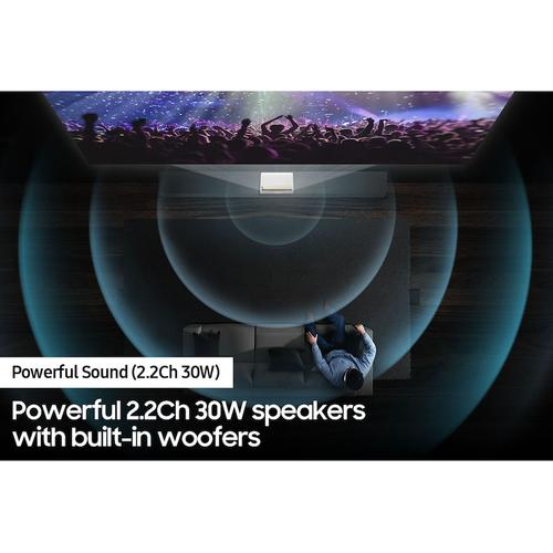 "120"" The Premiere LSP7T 4K Smart Laser Projector"
