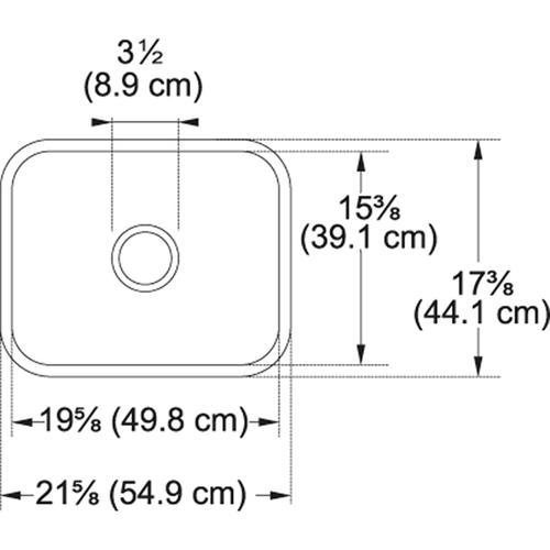 Franke - Cisterna CCK110-19 Fireclay White