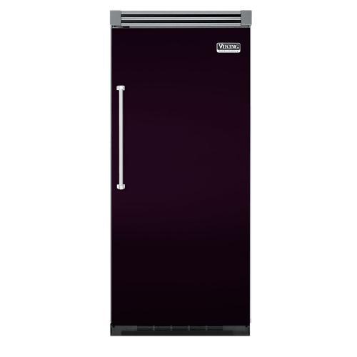 "Viking - Plum 36"" Quiet Cool™ All Refrigerator - VIRB Tru-Flush™ (Right Hinge Door)"