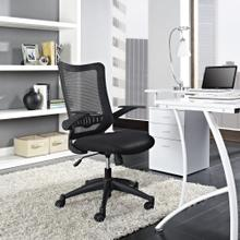 Explorer Mid Back Mesh Office Chair in Black