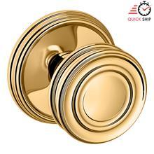 See Details - Lifetime Polished Brass 5066 Estate Knob with 5078 Rose