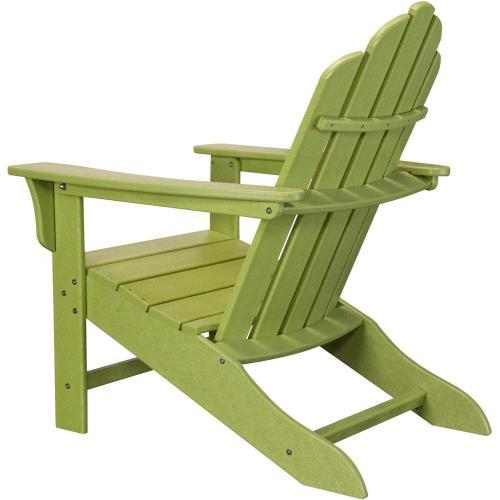Hanover All-Weather Contoured Adirondack Chair - Lime, HVLNA10LI