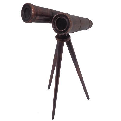 Vintage Binoculars Statue
