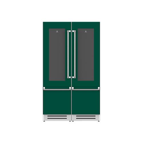 "Hestan - 48"" Wine Refrigerator Ensemble Refrigeration Suite - Grove"
