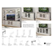 PROVENCE 76 in. TV Console