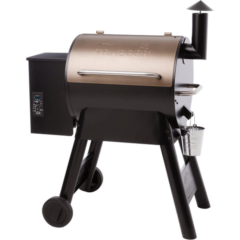 Traeger Pro Series 22 Pellet Grill (Gen 1) - Bronze