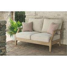 Clare View Loveseat w/Cushion Beige