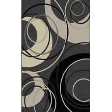 See Details - Lifestyle 777 Area Rug by Rug Factory Plus - 2' x 3' / Black