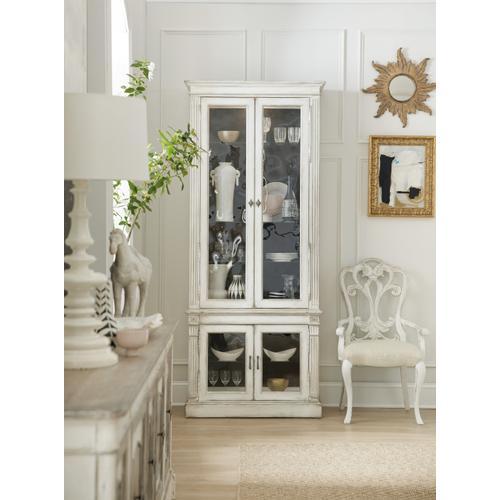 Sanctuary Display Cabinet Blanc