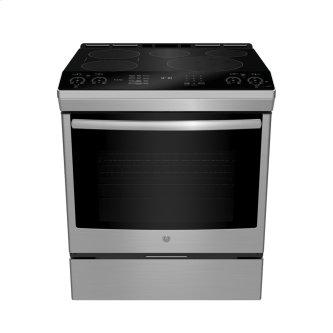 "GE Profile 30"" Slide-In Self-Clean Induction Range with WiFi Stainless Steel - PCHS920YMFS"