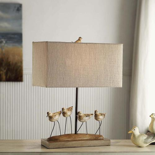 Shore Birds Table Lamp