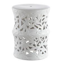 See Details - Granda Garden Stool - White