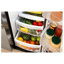 See Details - Crosley Side By Side Refrigerator - Stainless
