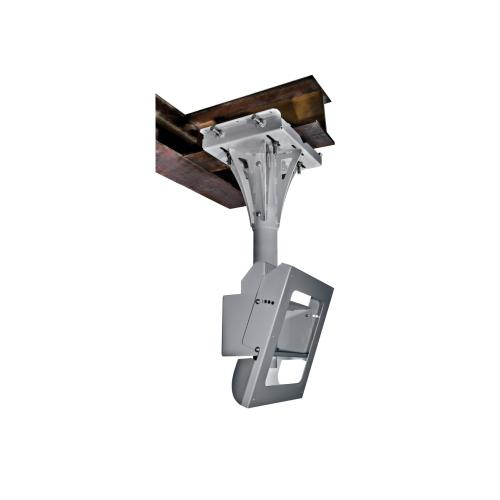 Indoor/Outdoor Tilting I-beam Mount For Protective Enclosures (FPE42(H)-S, FPE47(H)-S & FPE55(H)-S) - Silver / 1-ft