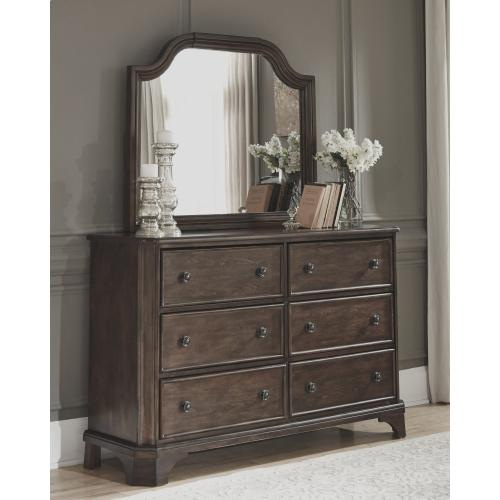 Adinton Dresser and Mirror