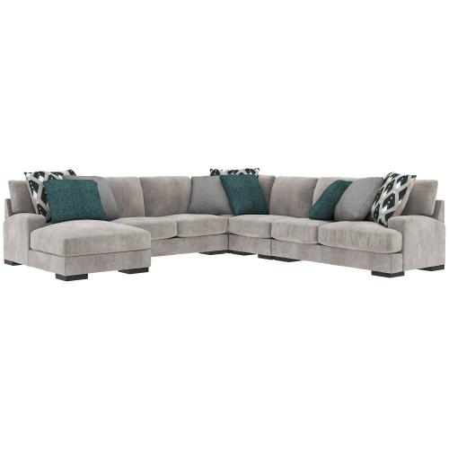 Ashley - Bardarson 5-piece Sectional With Chaise