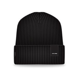 Limited Edition Alpine Premium Black Cuffed Beanie