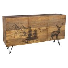 See Details - Alpine Deer Sideboard, 55471