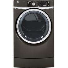 See Details - GE® 8.1 cu. ft. capacity RightHeight Design Front Load electric dryer with steam