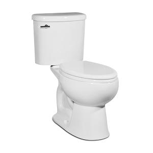 White PALERMO Two-Piece Toilet Product Image