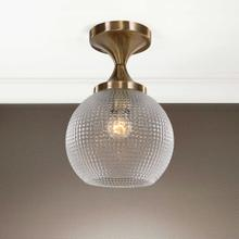 Bolla, 1 Lt Semi Flush Mount