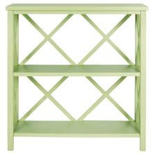 See Details - Liam Open Bookcase - Avocado Green