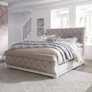 Liberty Furniture Industries - Queen Uph Sleigh Bed