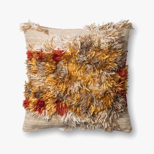 P0413 Camel / Sunset Pillow