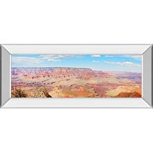 """Grand Canyon Panorama I"" By Sylvia Coomes Mirror Framed Print Wall Art"