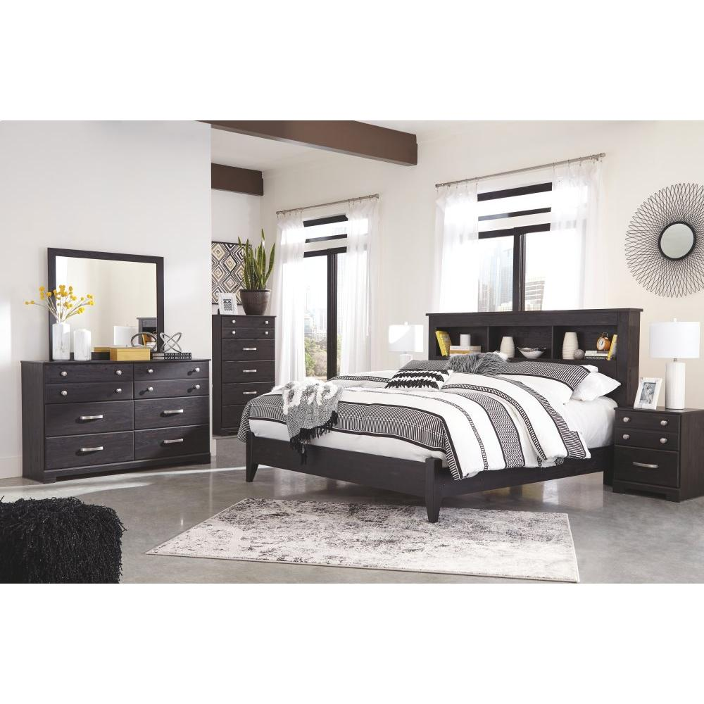 Reylow King Bookcase Bed