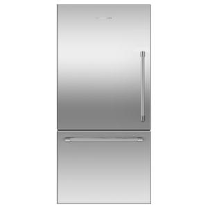 "Fisher & PaykelFreestanding Refrigerator Freezer, 32"", 17.1 cu ft, Ice"