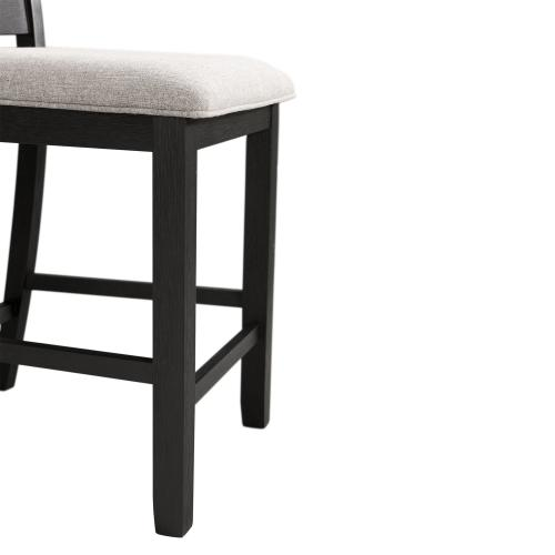 Martin Gray 5PC Counter Height Dining Set-Table & Four Chairs