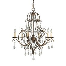 Chateau Small Chandelier Mocha Bronze