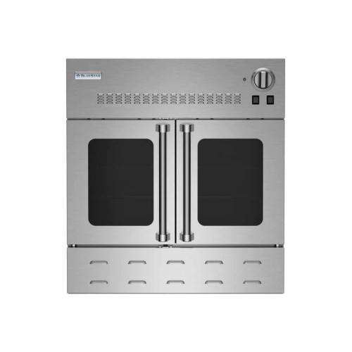 "FLOOR MODEL CLEARANCE ITEM  30"" Gas Wall Oven with French Doors"