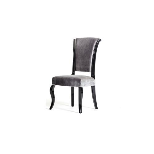 Seema - Modern Grey & Black Dining Chair (Set of 2)
