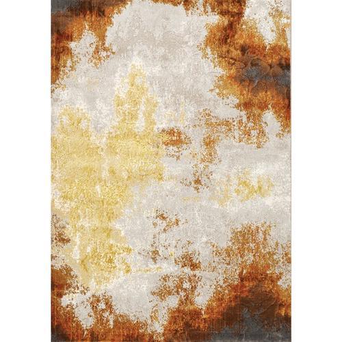 Parlour 41040 Cream Orange Yellow 8 x 11