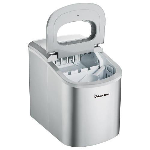 Magic Chef - 27-Lb. Portable Ice Maker