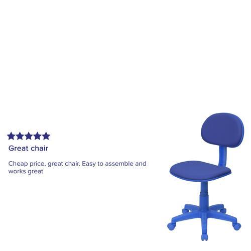 Gallery - Blue Mesh Swivel Task Office Chair