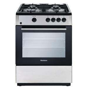 "Blomberg Appliances24"" Freestanding gas range, Stainless Steel"