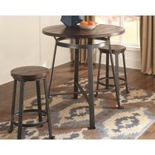 Round Counter Table and 2 Stools